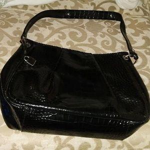 Liz Claiborne black shoulder bag
